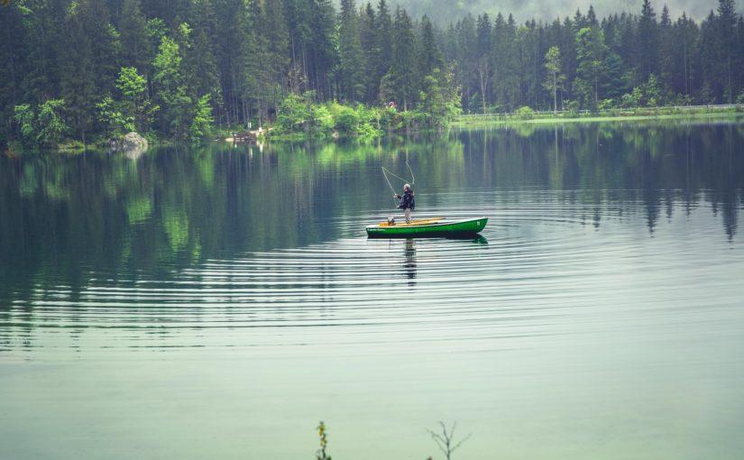 Рыбалка осенью на малых речках