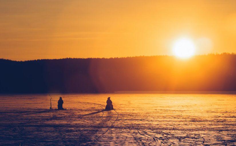 Рыбалка на Оке в зимнее время года, в чем ее особенности